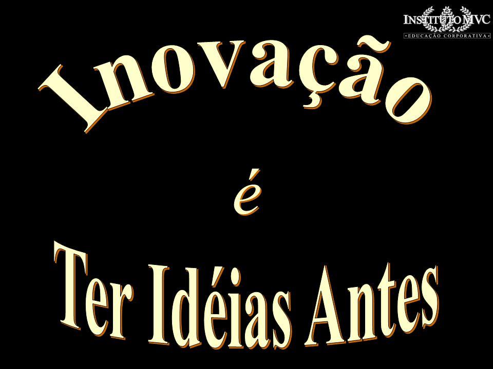 Inovação é Ter Idéias Antes