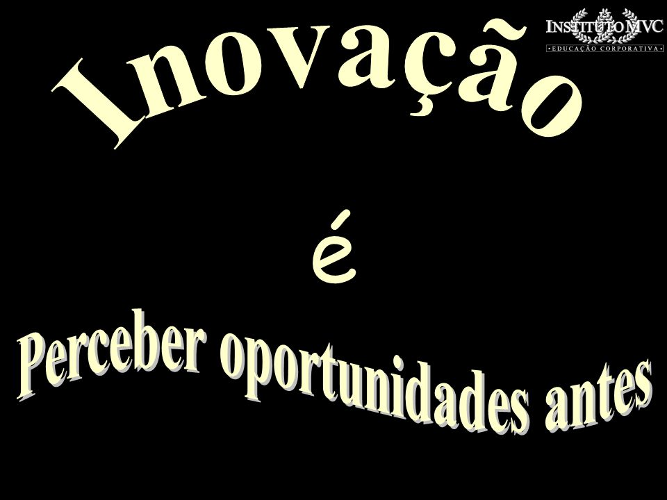 Perceber oportunidades antes