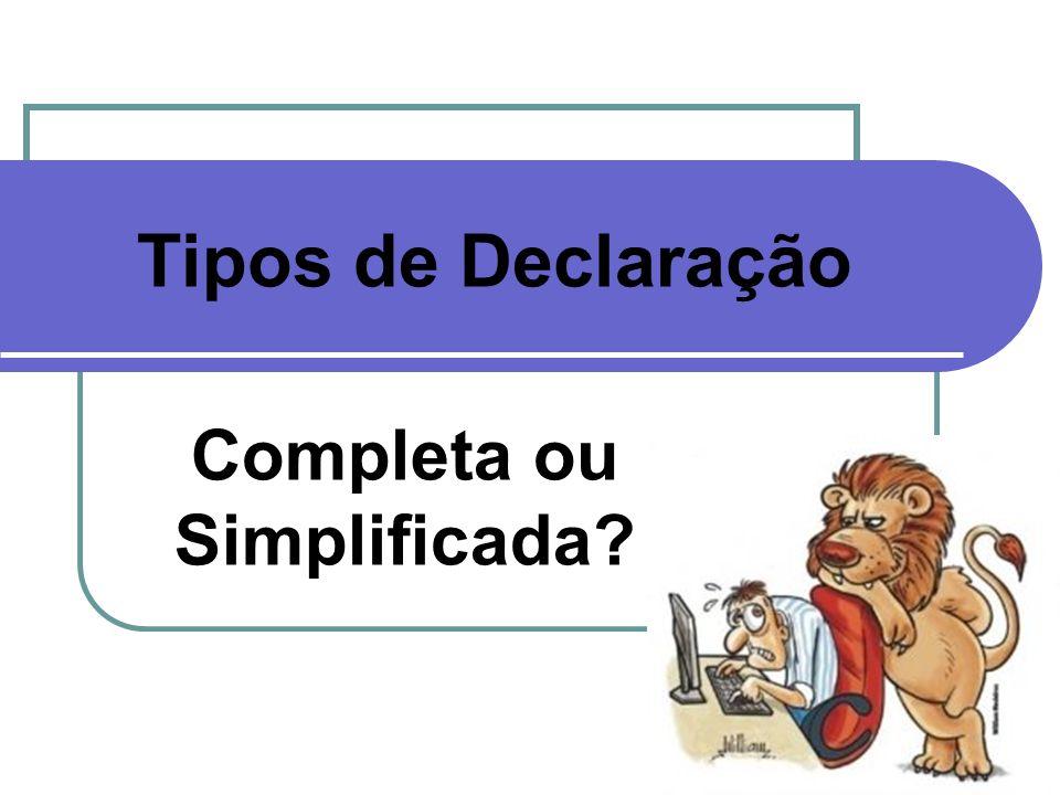 Completa ou Simplificada