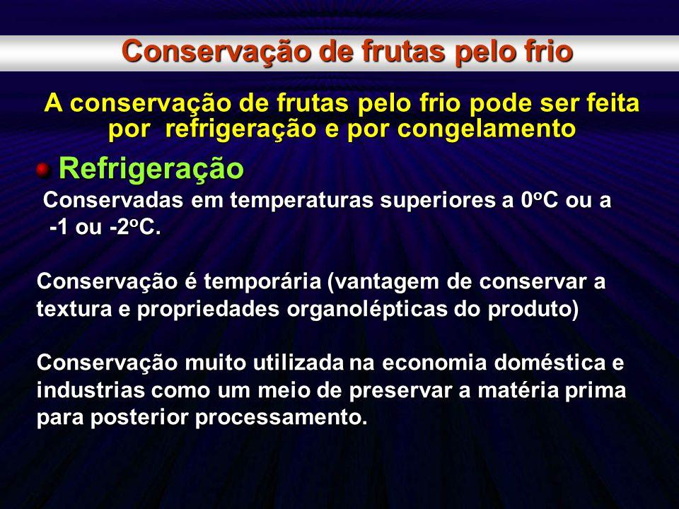 Conservação de frutas pelo frio
