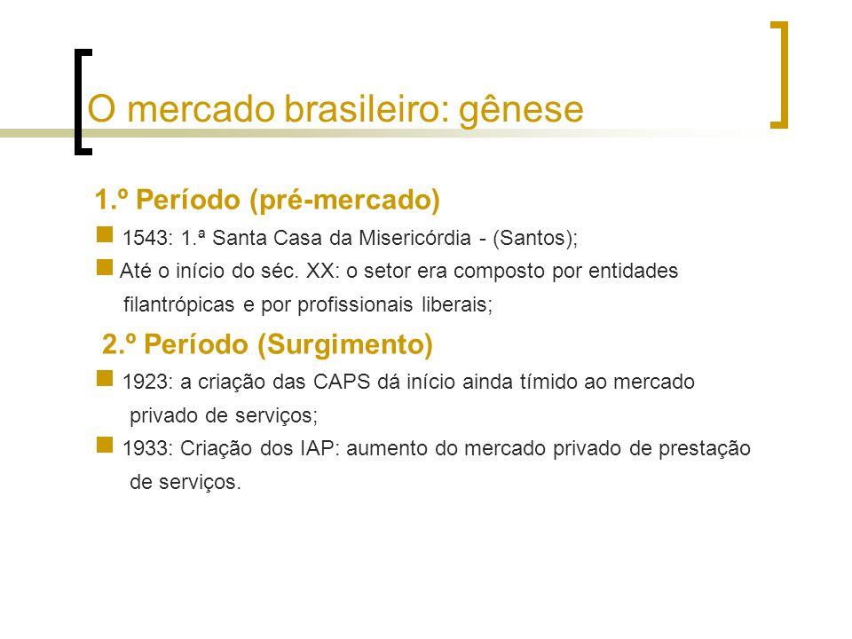 O mercado brasileiro: gênese