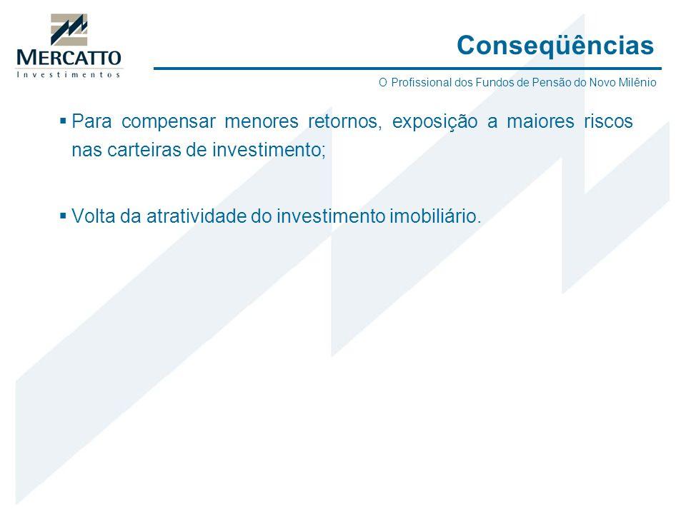 ConseqüênciasO Profissional dos Fundos de Pensão do Novo Milênio.
