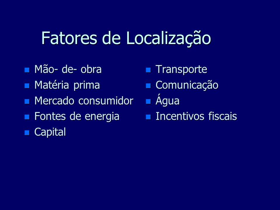 Fatores de Localização
