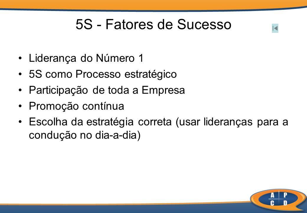 5S - Fatores de Sucesso Liderança do Número 1