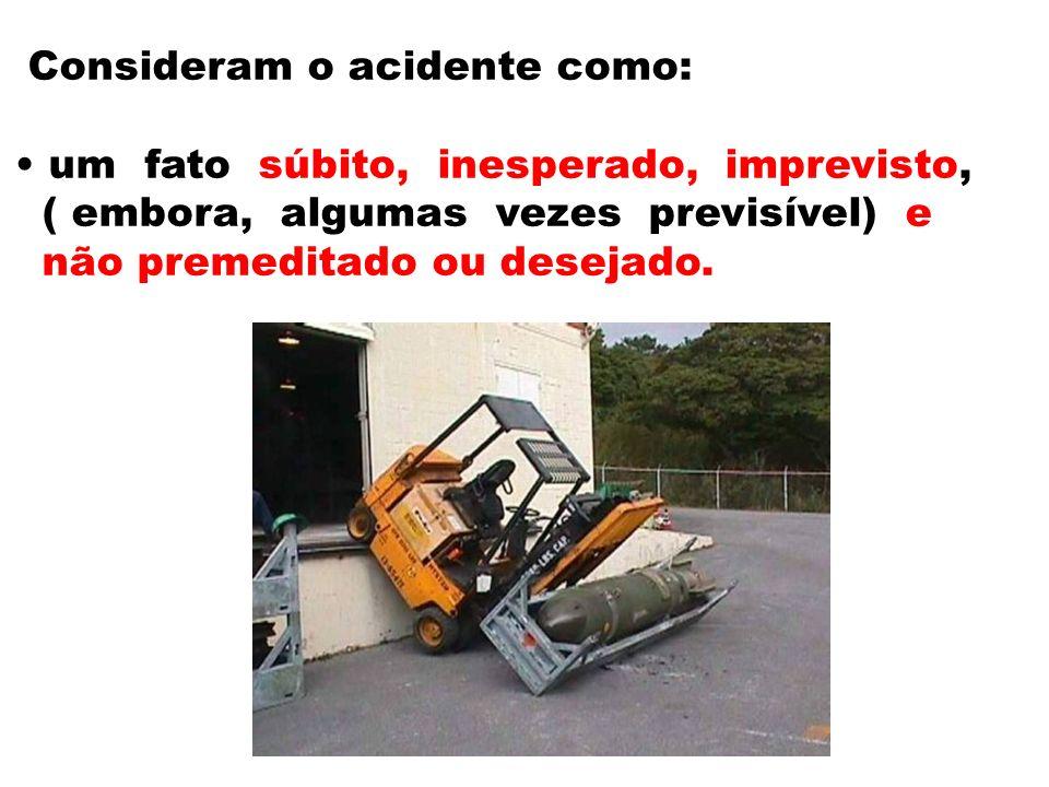 Consideram o acidente como: