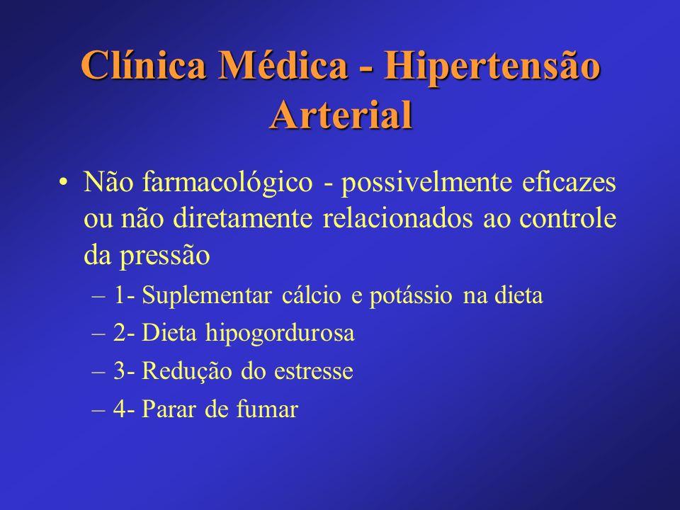 Clínica Médica - Hipertensão Arterial