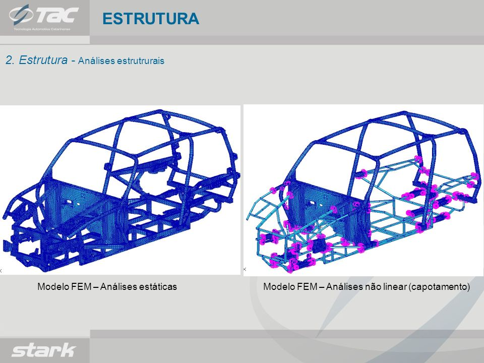 ESTRUTURA 2. Estrutura - Análises estrutrurais