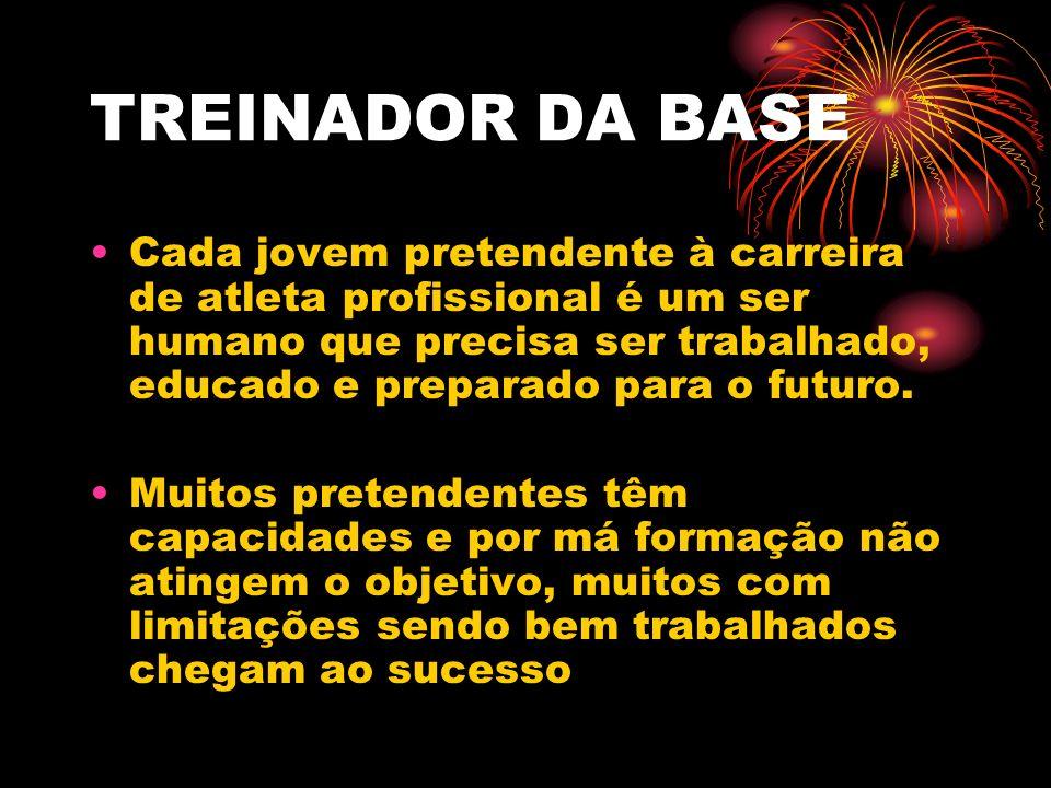 TREINADOR DA BASE