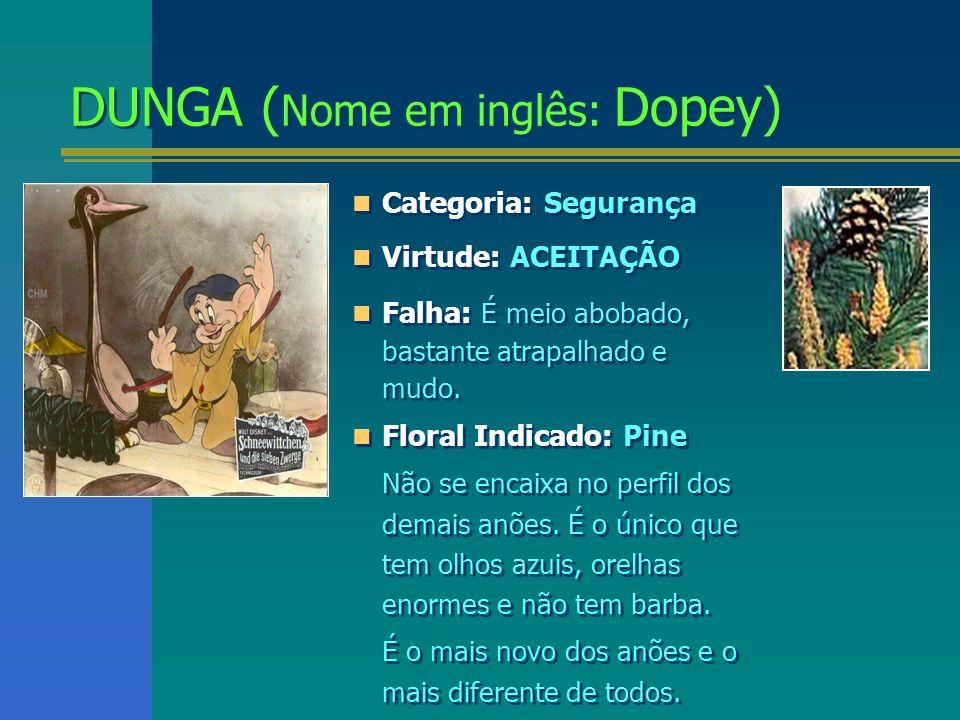 DUNGA (Nome em inglês: Dopey)