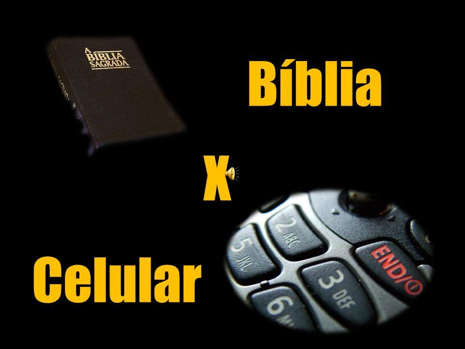 Bíblia X Celular
