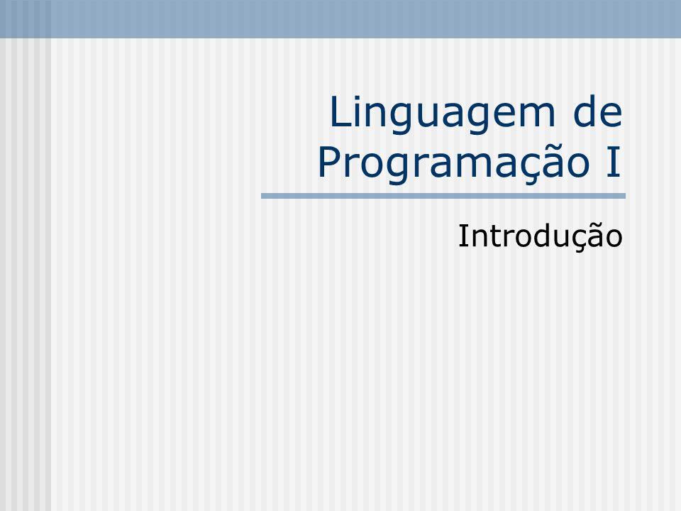 Linguagem de Programação I