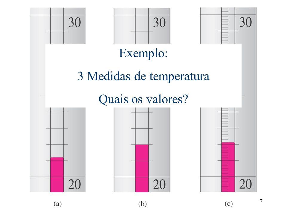 3 Medidas de temperatura