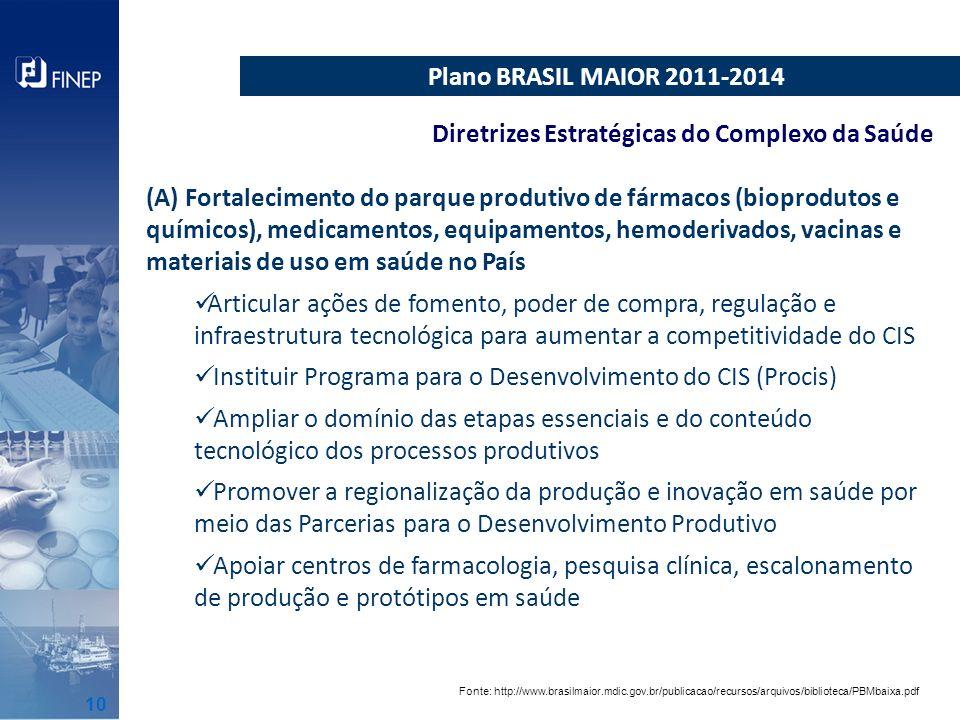 Diretrizes Estratégicas do Complexo da Saúde