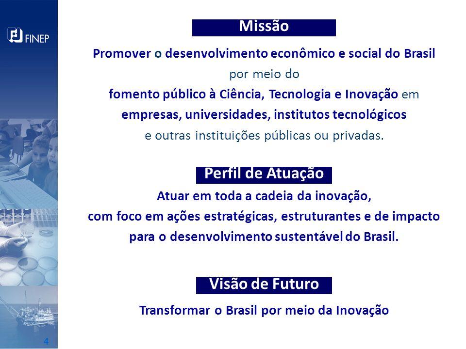 Missão Perfil de Atuação Visão de Futuro