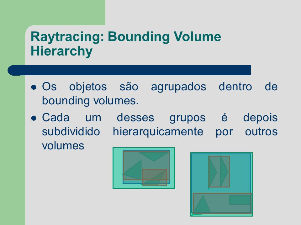 Raytracing: Bounding Volume Hierarchy
