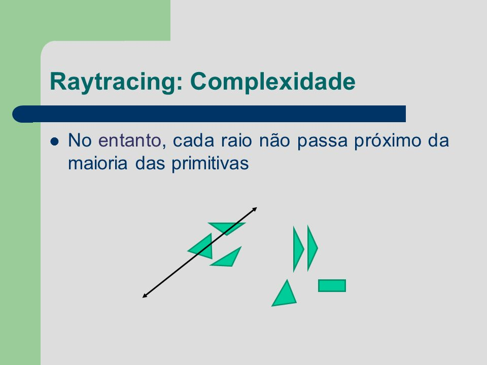 Raytracing: Complexidade