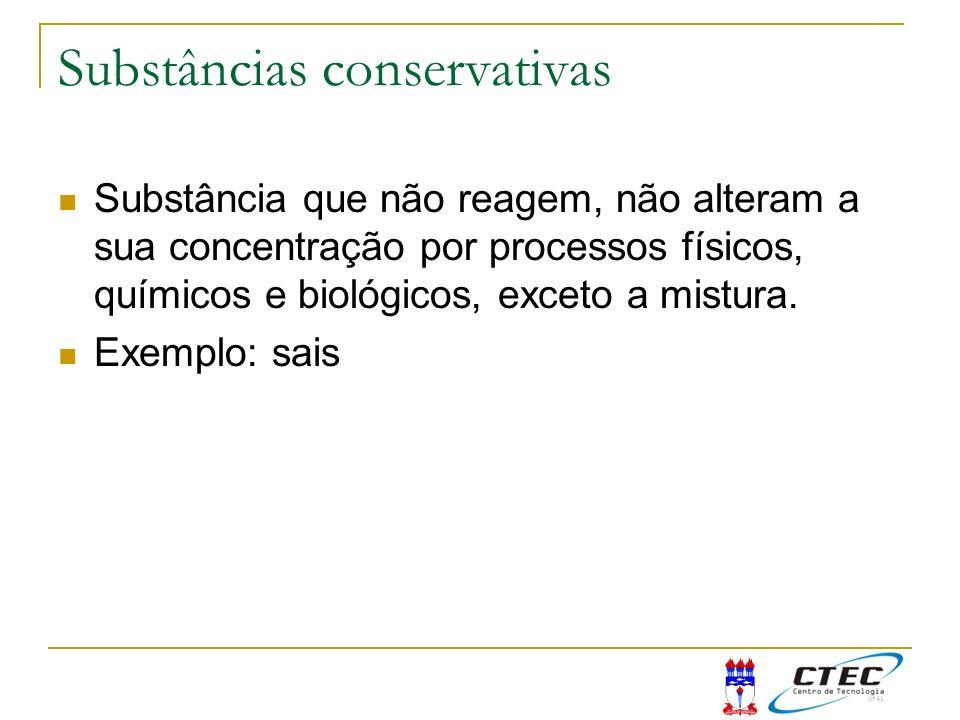 Substâncias conservativas