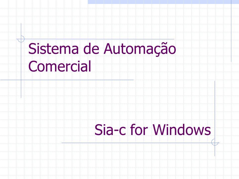 Sistema de Automação Comercial
