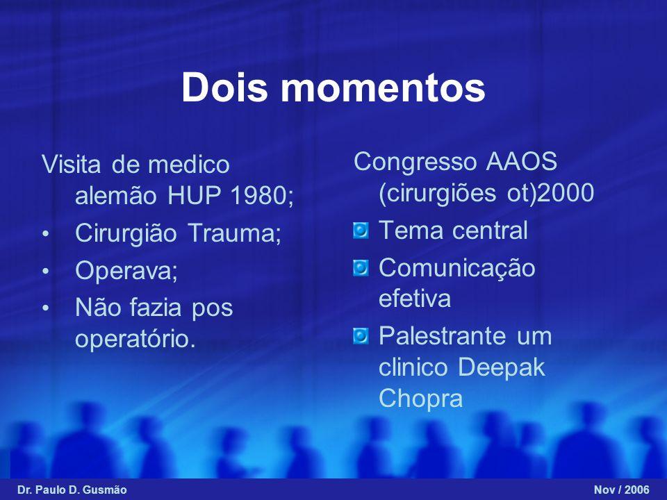 Dois momentos Congresso AAOS (cirurgiões ot)2000