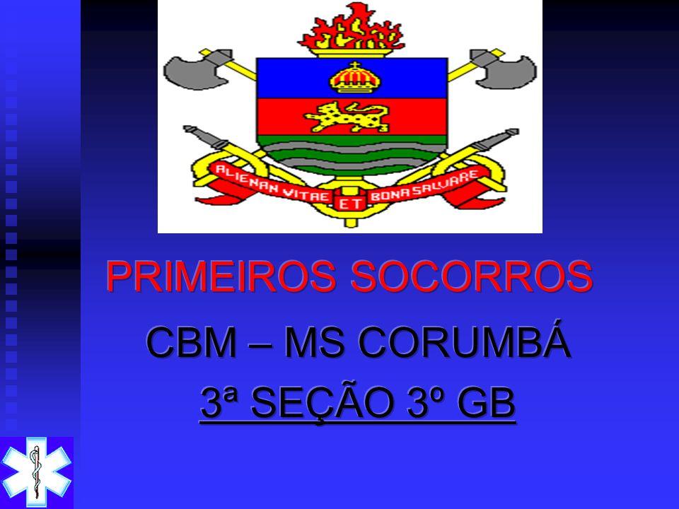 CBM – MS CORUMBÁ 3ª SEÇÃO 3º GB