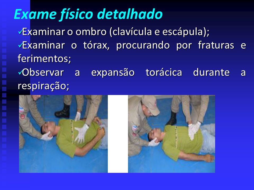 Exame físico detalhado