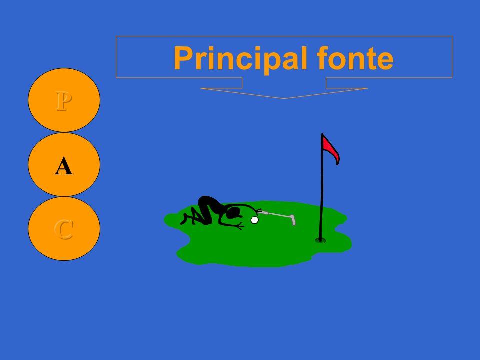 Principal fonte P A C