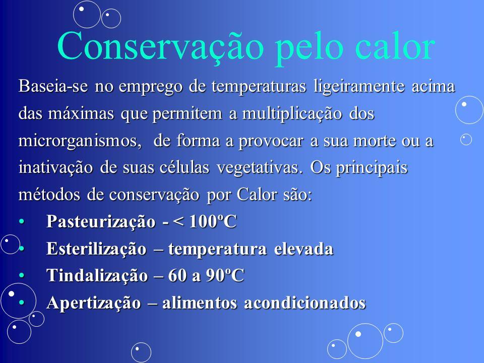 Conservação pelo calor