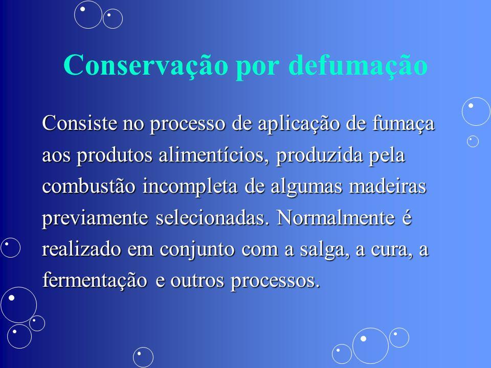 Conservação por defumação