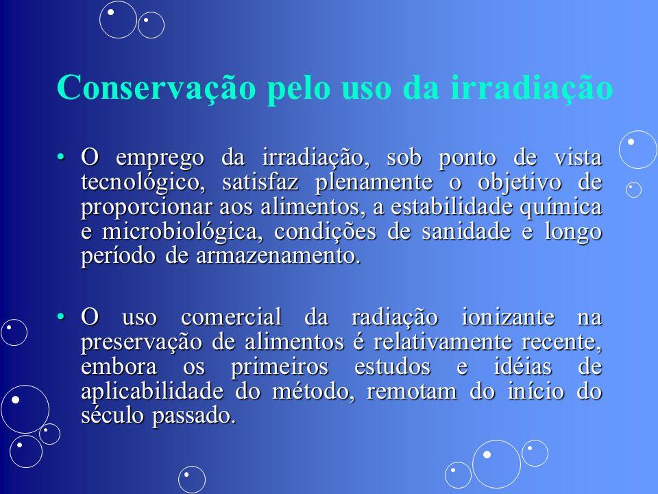 Conservação pelo uso da irradiação