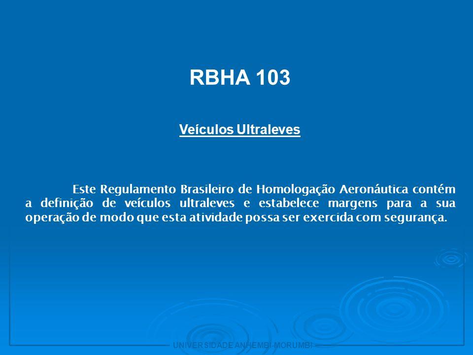 RBHA 103 Veículos Ultraleves 31