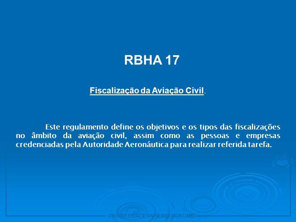 Fiscalização da Aviação Civil.
