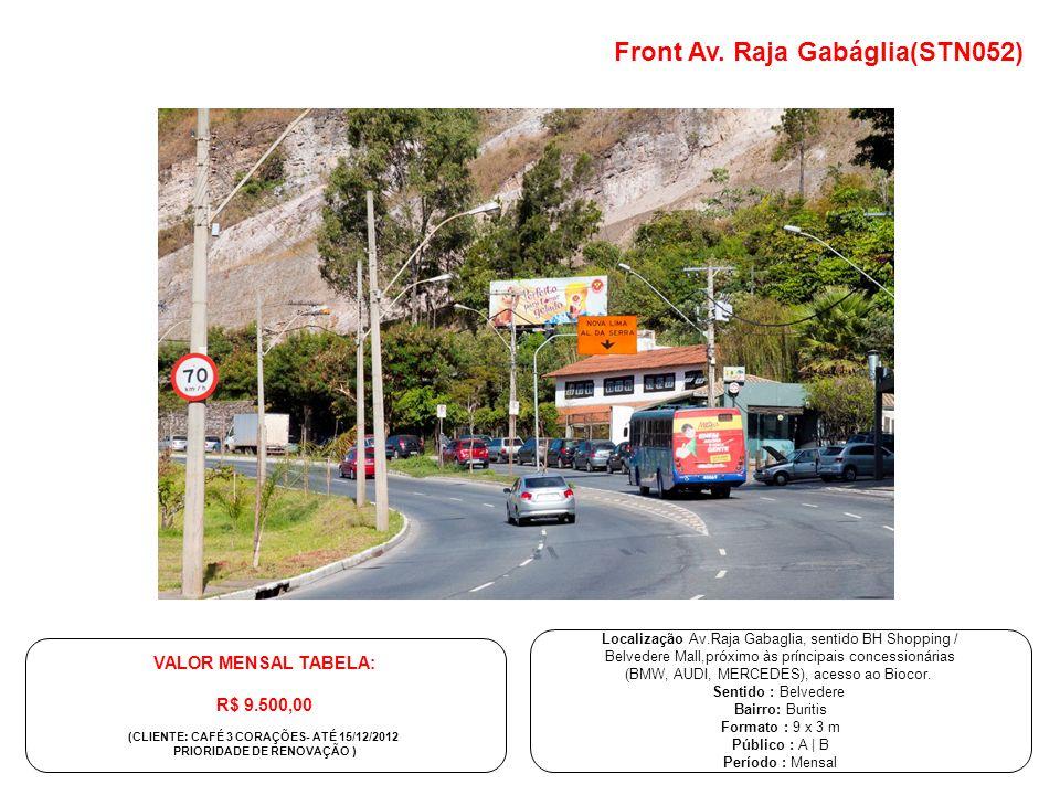 (CLIENTE: CAFÉ 3 CORAÇÕES- ATÉ 15/12/2012 PRIORIDADE DE RENOVAÇÃO )