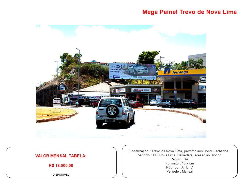 Mega Painel Trevo de Nova Lima