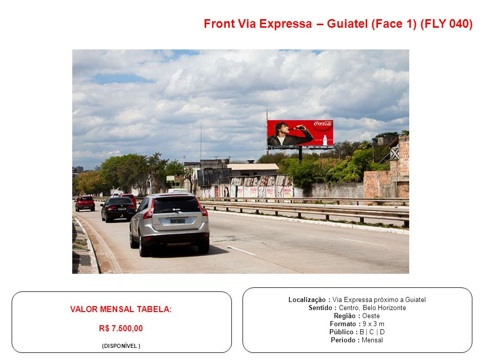 Front Via Expressa – Guiatel (Face 1) (FLY 040)