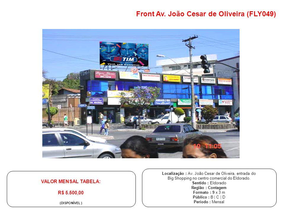 Front Av. João Cesar de Oliveira (FLY049)