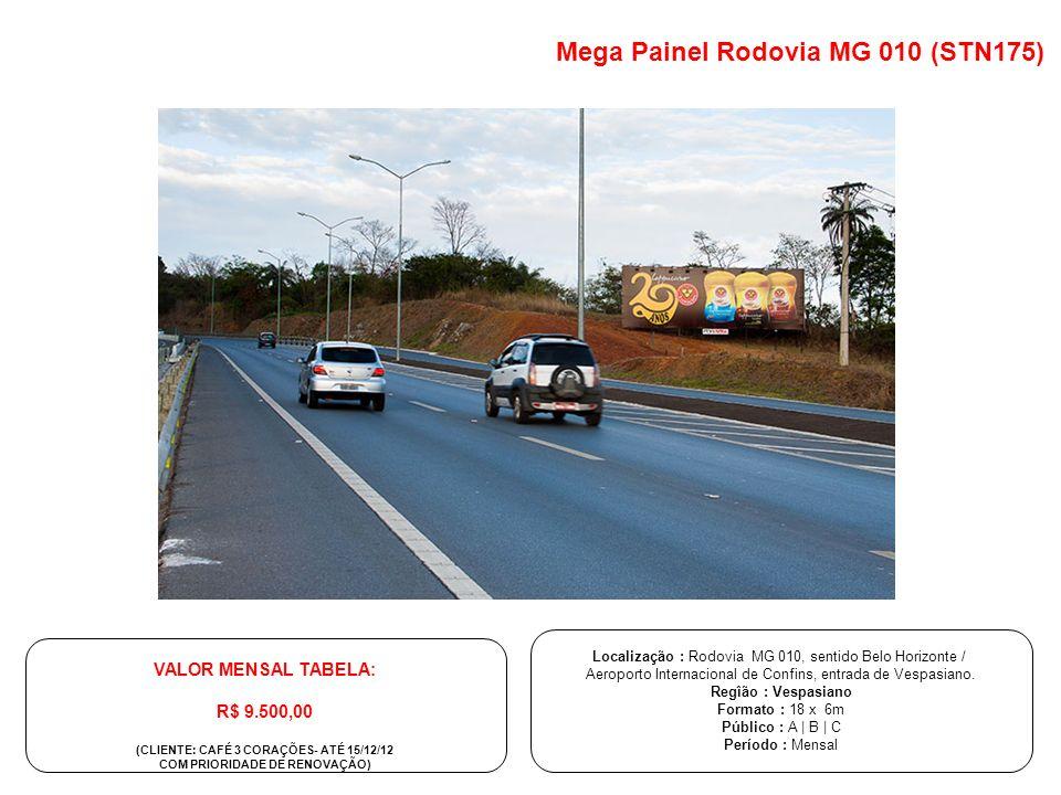 Mega Painel Rodovia MG 010 (STN175)