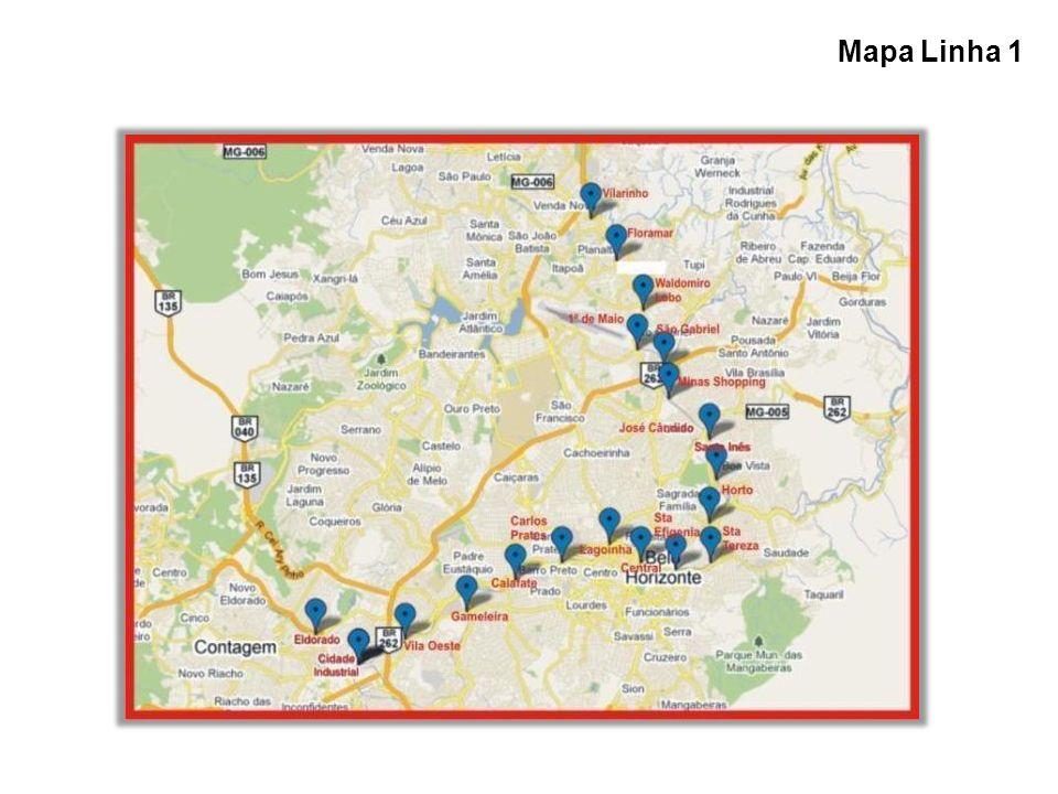 Mapa Linha 1