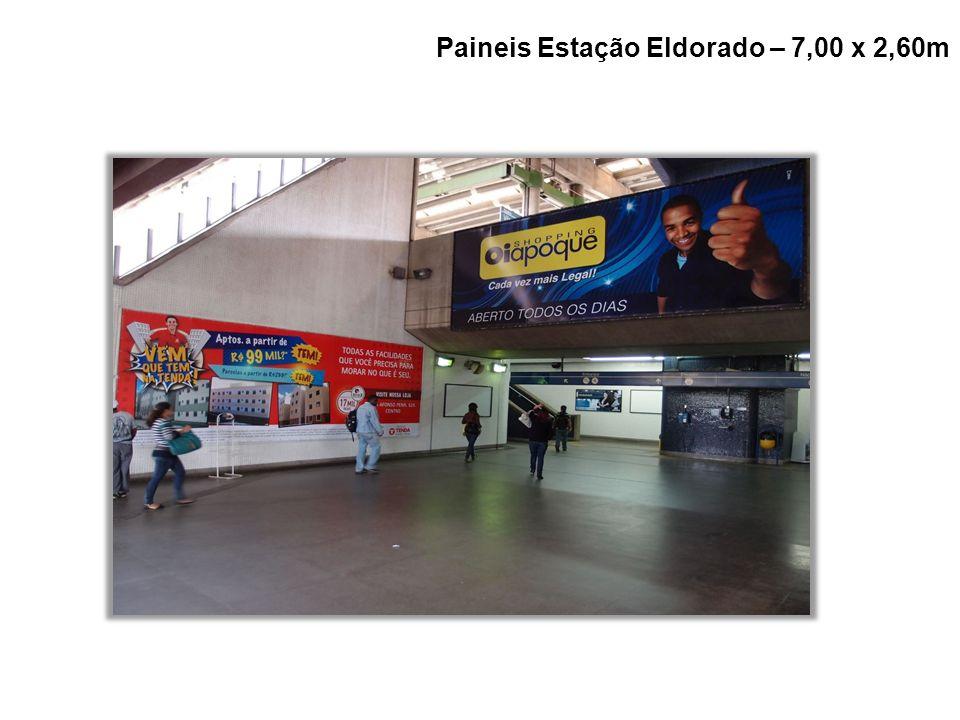 Paineis Estação Eldorado – 7,00 x 2,60m