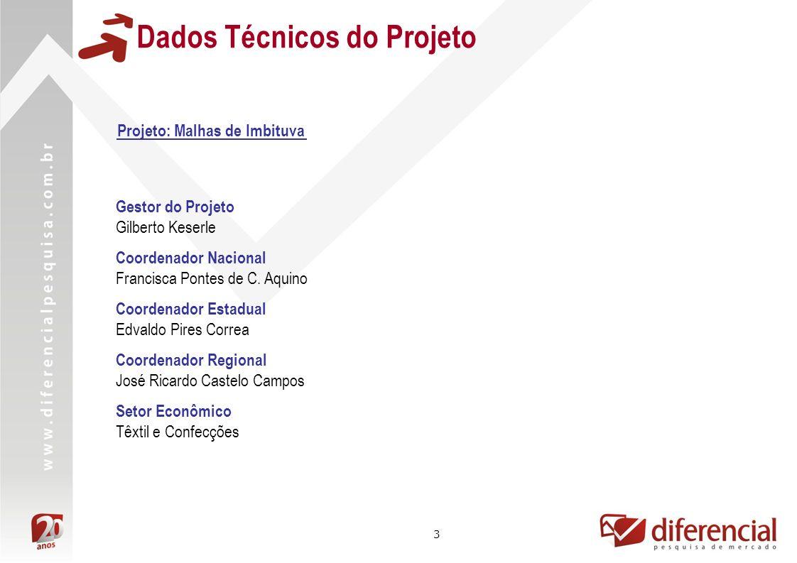 Dados Técnicos do Projeto
