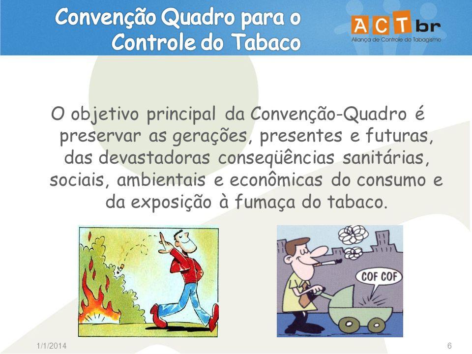 Convenção Quadro para o Controle do Tabaco