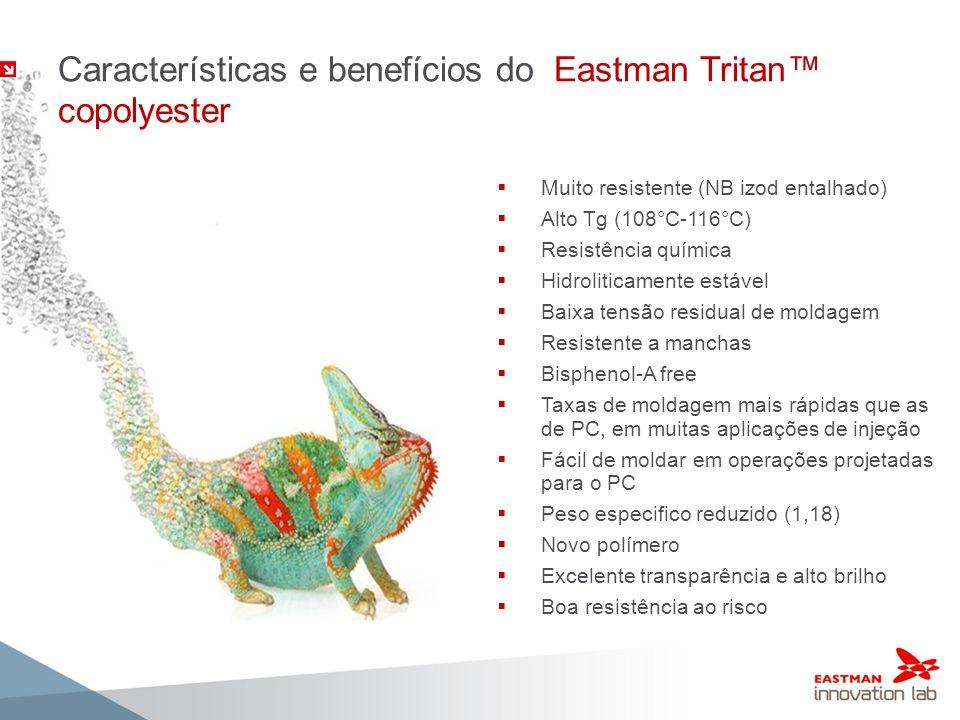 Características e benefícios do Eastman Tritan™ copolyester