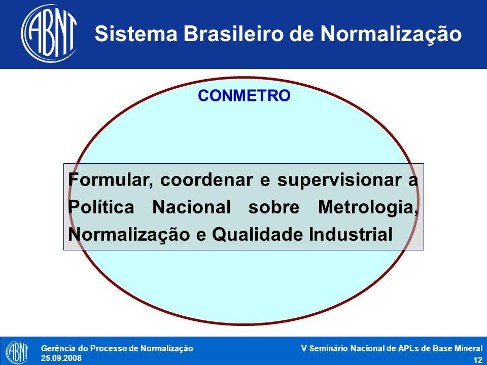Sistema Brasileiro de Normalização
