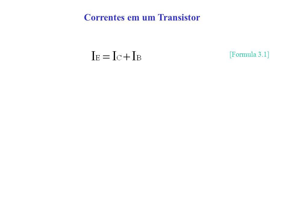 Correntes em um Transistor
