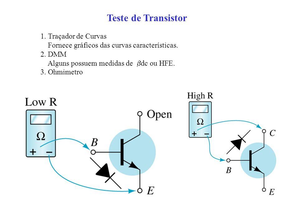 Teste de Transistor 1. Traçador de Curvas