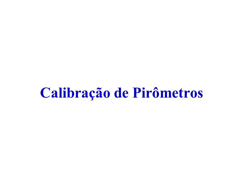 Calibração de Pirômetros