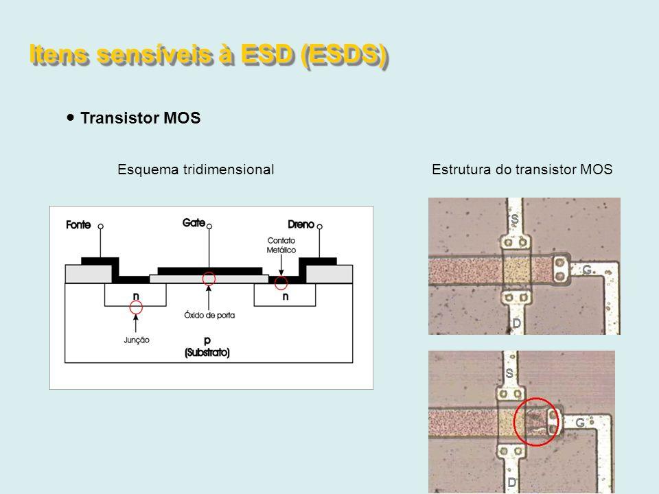 Itens sensíveis à ESD (ESDS)