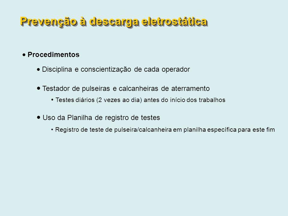 Prevenção à descarga eletrostática