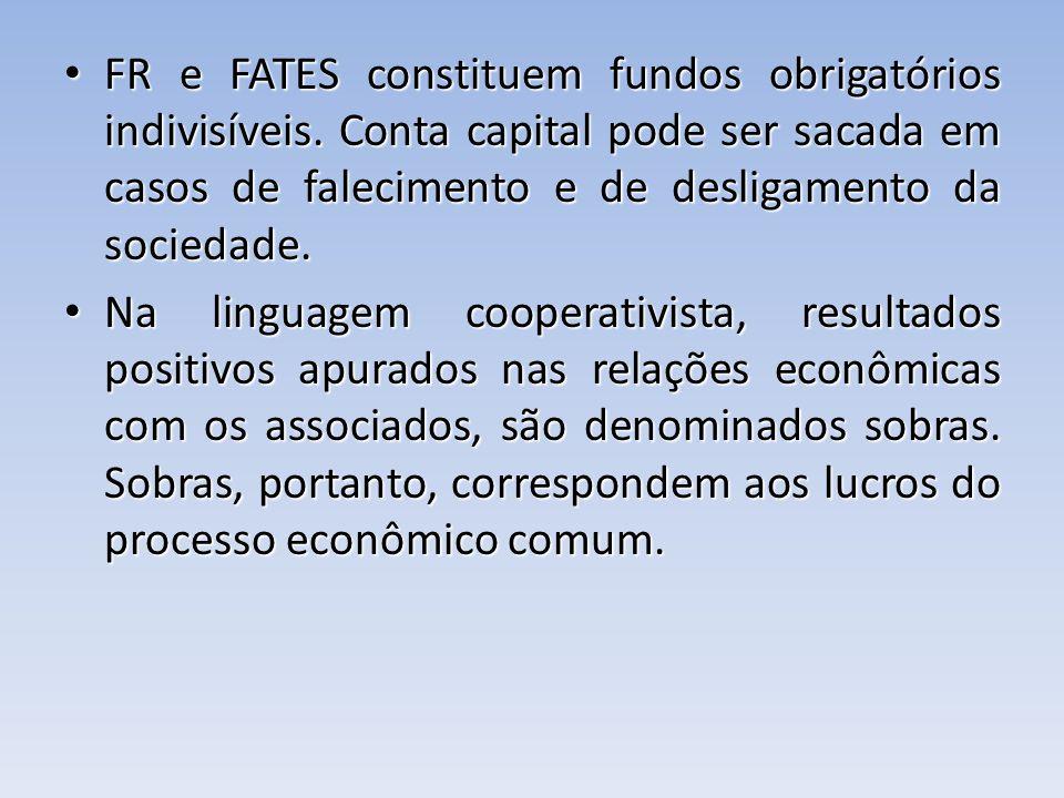 FR e FATES constituem fundos obrigatórios indivisíveis