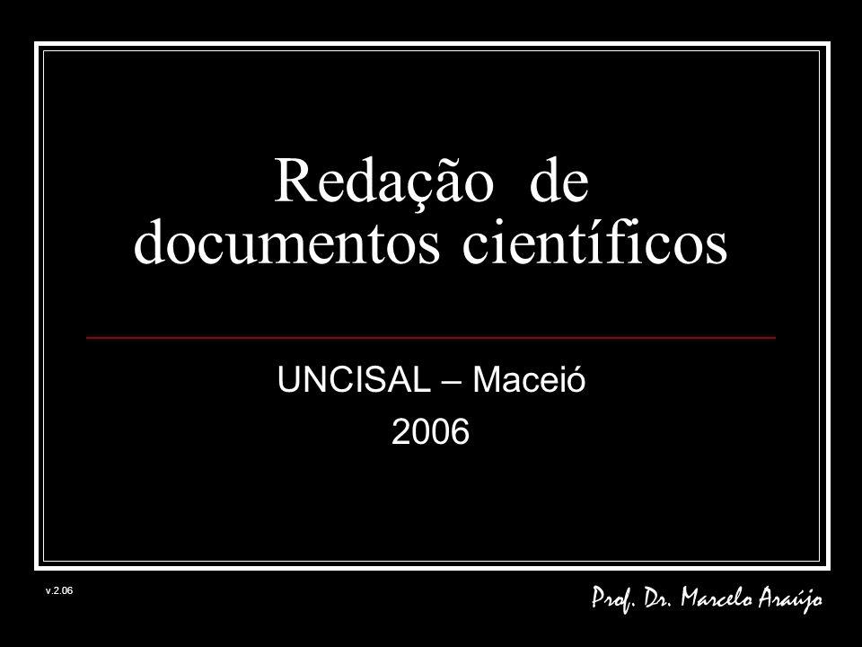 Redação de documentos científicos