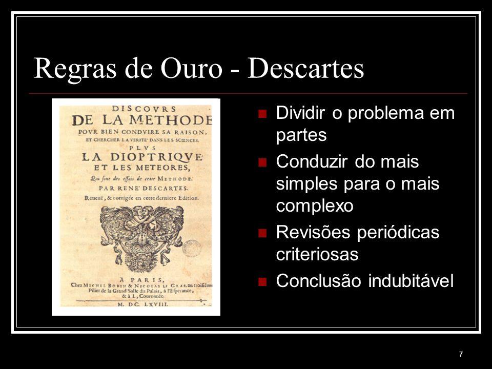 Regras de Ouro - Descartes